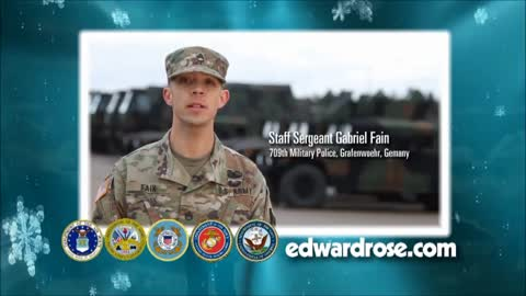 Military Greetings 2017: SPC Charles Barden and Staff Sgt. Gabriel Fain