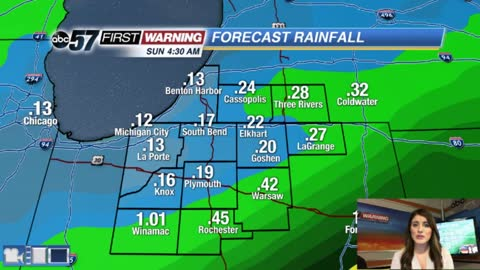 More rain into the weekend before it improves