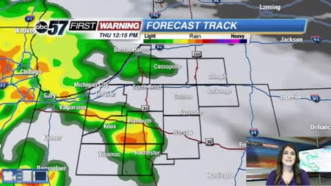 More wet weather through Saturday morning