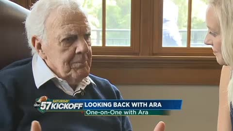 One-on-one with former Notre Dame Coach Ara Parseghian