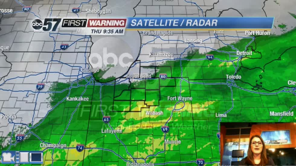 More showers possible but brighter ahead