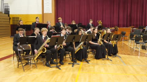Brandywine H.S. Jazz Band: Sounds of the Season 2019