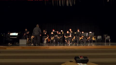 Clay H.S. Jazz Band: Sounds of the Season 2019