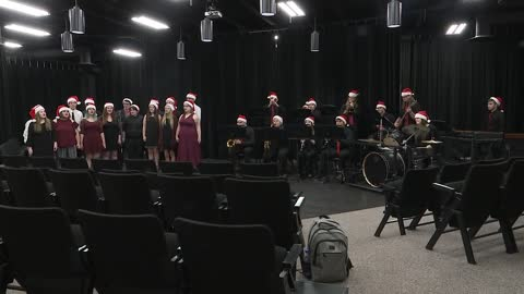 Plymouth H.S. Jazz Band and Crimson Connection: Sounds of the Season 2019