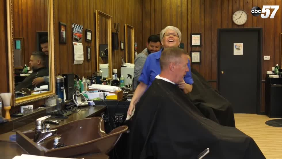 South Bend barbershop's month-long pay it forward evolves