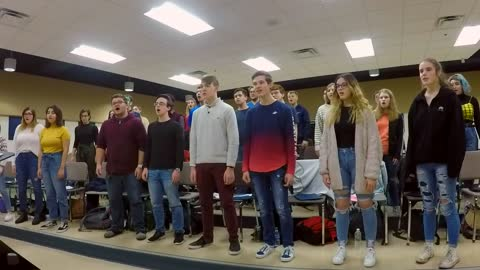 St. Joseph H.S. Choir- O Holy Night- SOS 2019