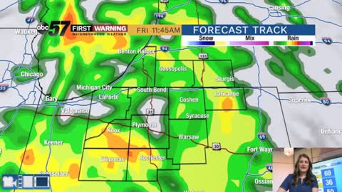 Strong Fall storm brings rain, wind and much cooler air