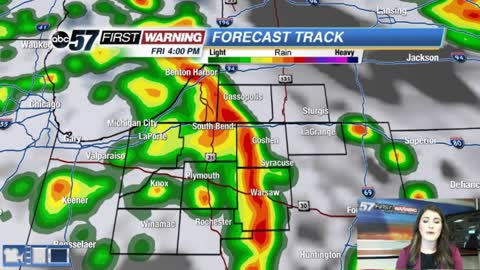 Strong system brings rain Friday through Sunday
