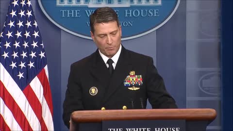 White House doctor gives detailed report of Trump's health