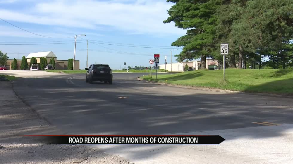 US 20 in New Carlisle reopens after months of construction