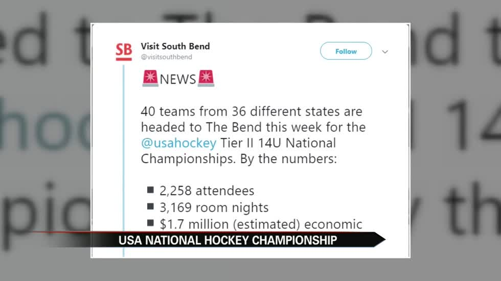 USA Hockey Nationals will bring big bucks to South Bend