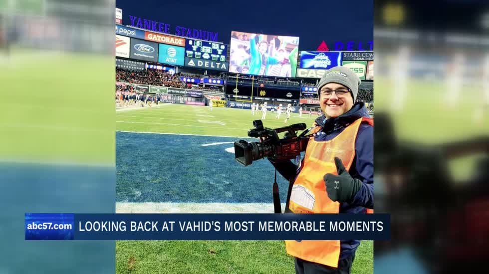 Saying goodbye to morning anchor Vahid Sadrzadeh