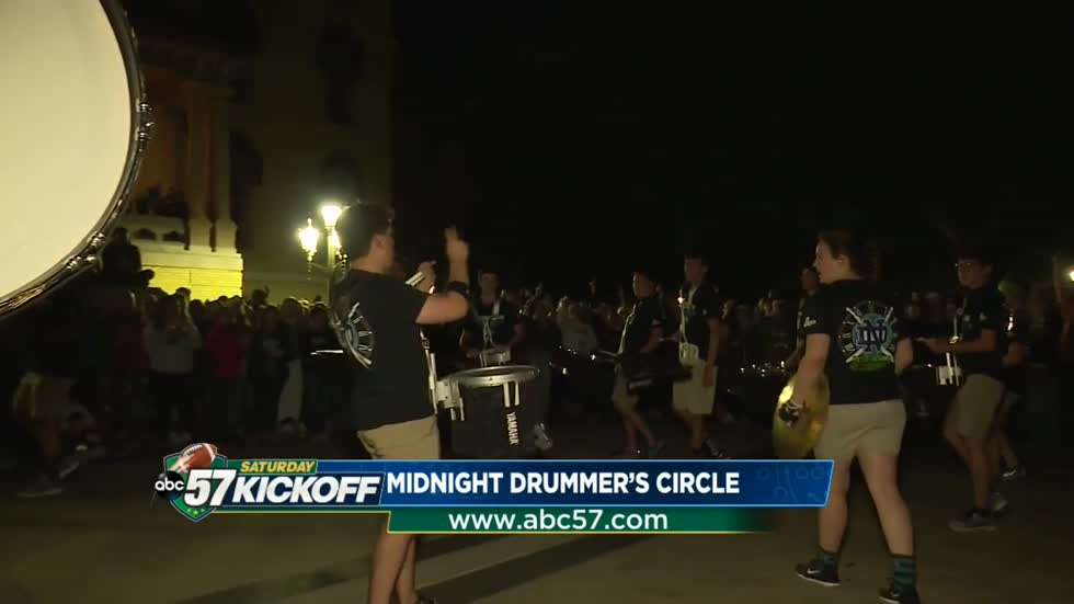 'Victory begins at midnight' - with the drummer's circle