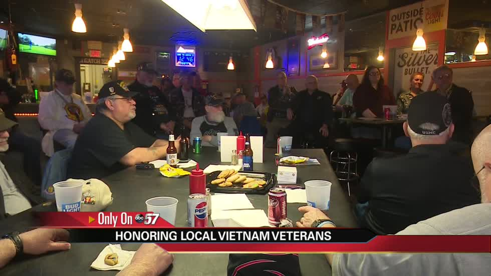 Vietnam vets celebrate National Vietnam Veterans Day