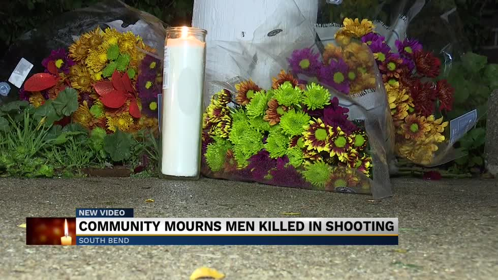 Vigil held for shooting victims at Waterford Glen Apartments