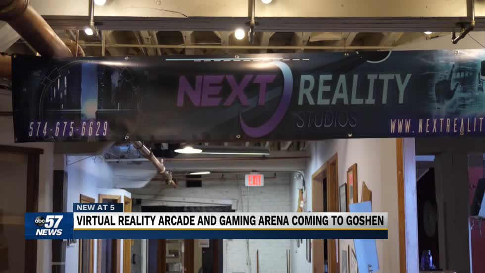 Virtual reality arcade and gaming arena coming to Goshen