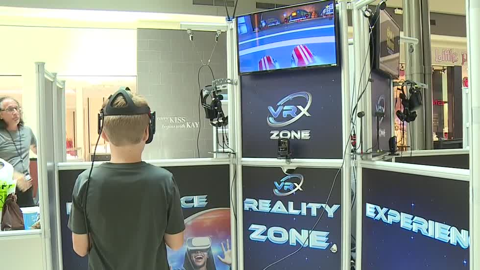 Virtual reality station opens at mall