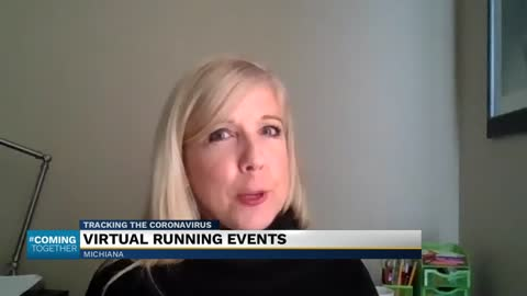 Virtual running events during coronavirus pandemic