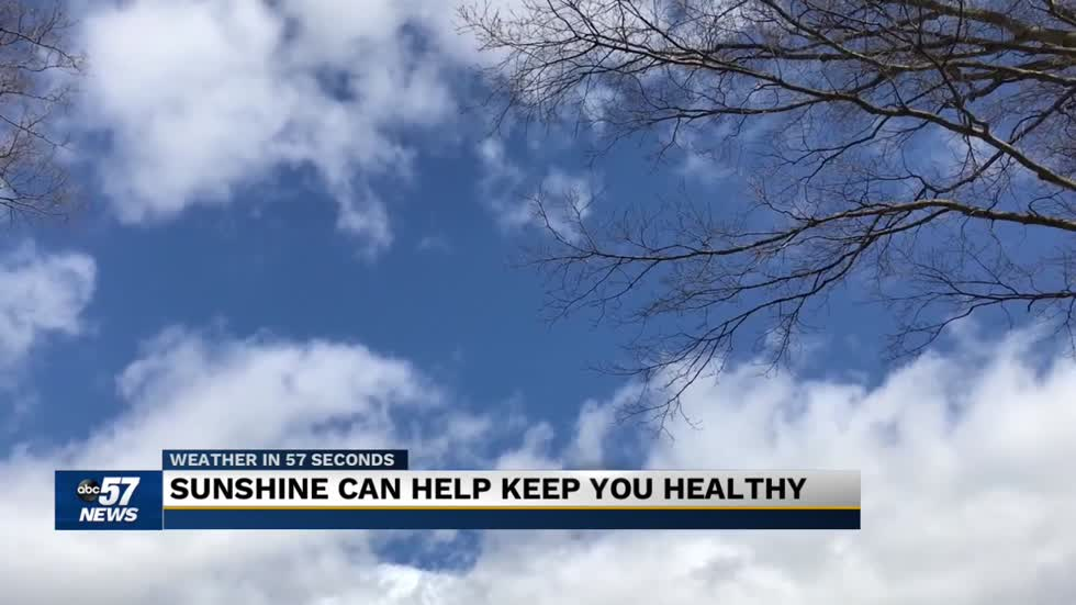 Vitamin D from the sun starting to return across Michiana