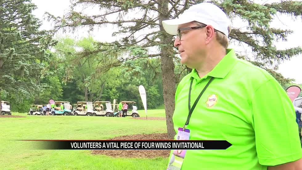 Volunteers play a vital role at the Four Winds Invitational