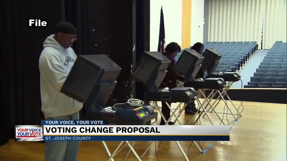 St. Joseph County officials considering proposal to create vote centers