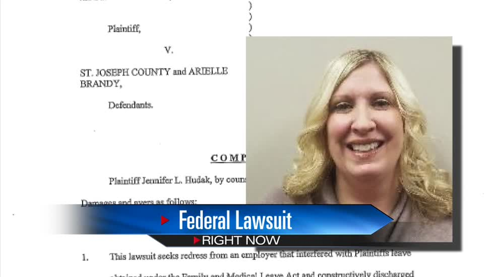 Federal lawsuit filed against St. Joe County, employee of Voter Registration Office