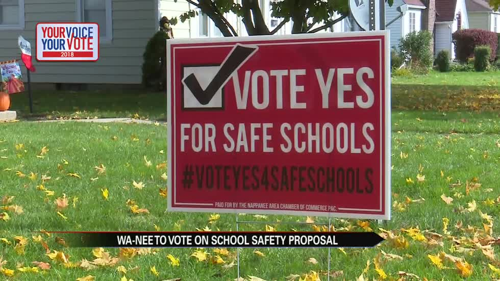 Wa-nee to vote on school safety proposal