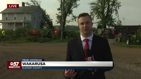 Wakarusa storm damage