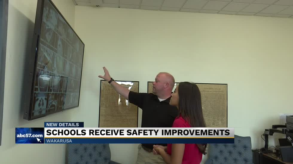 Wa-nee community schools debut new safety upgrades for the new school year