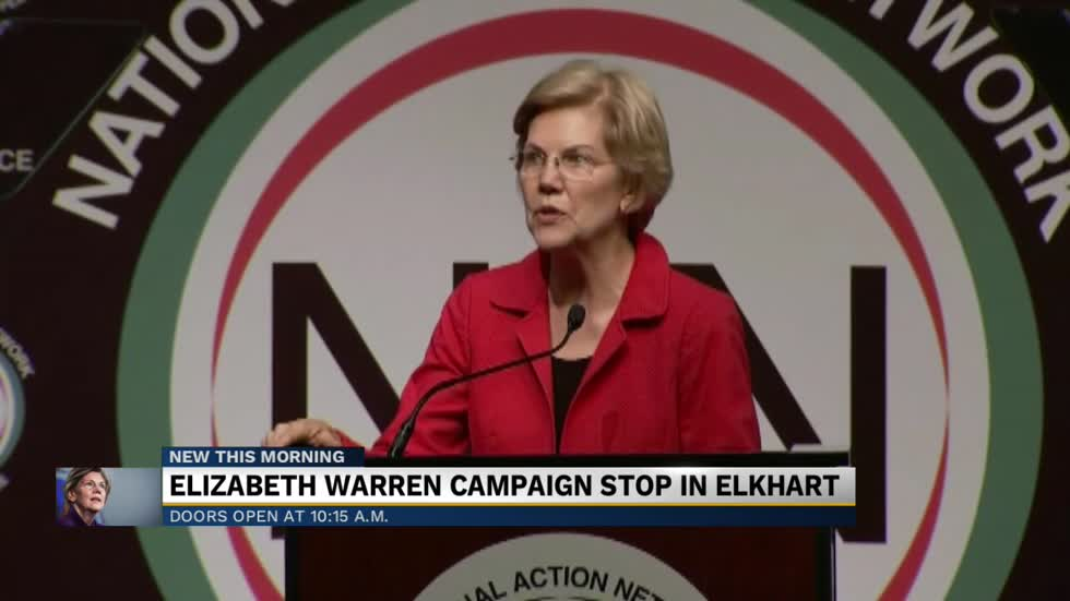 Warren set to campaign in Elkhart; political experts discuss impact of visit