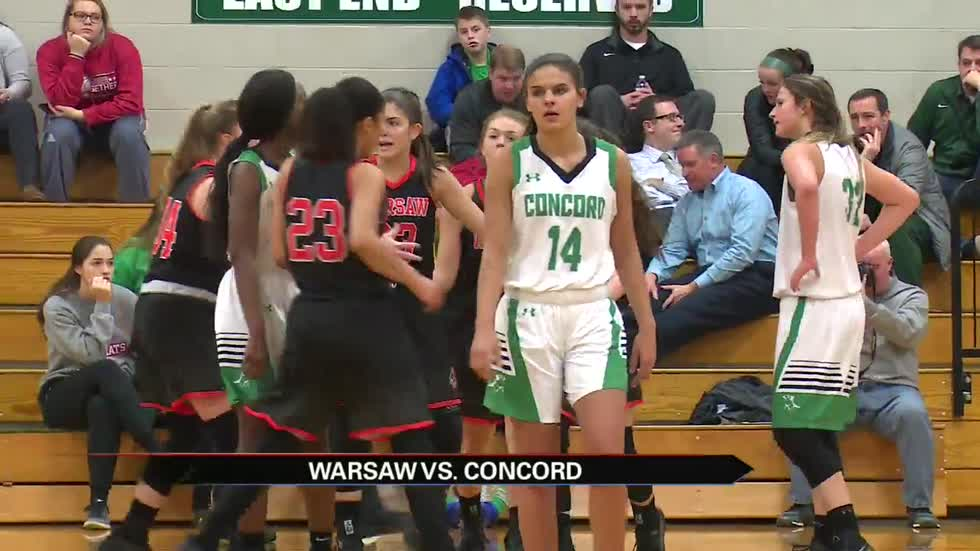 Warsaw and Memorial advance to sectional semis; other girls scores