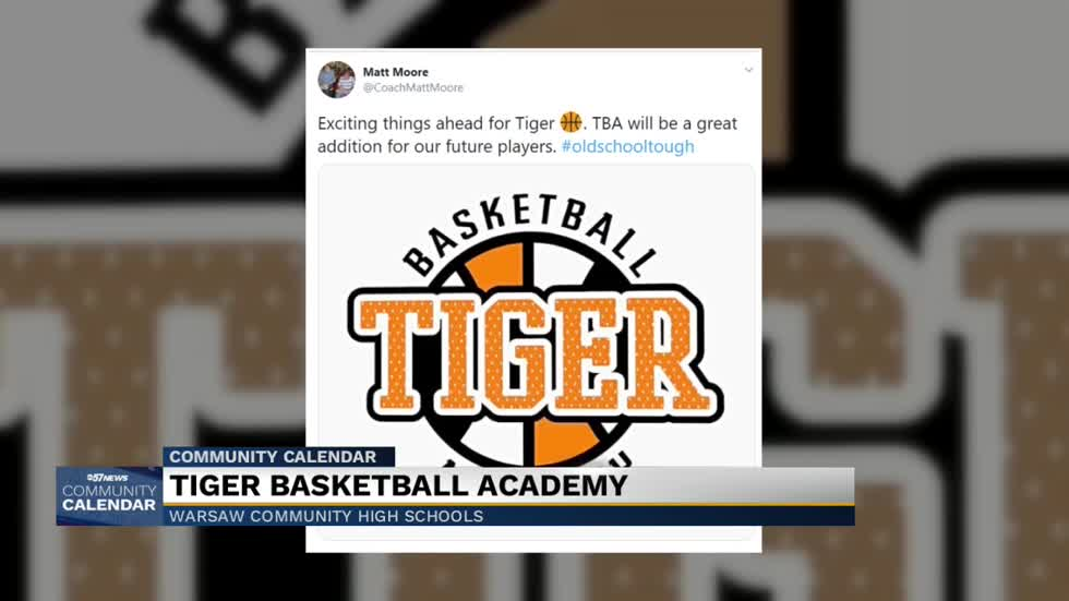Warsaw Community High School hosting Tiger Basketball Academy