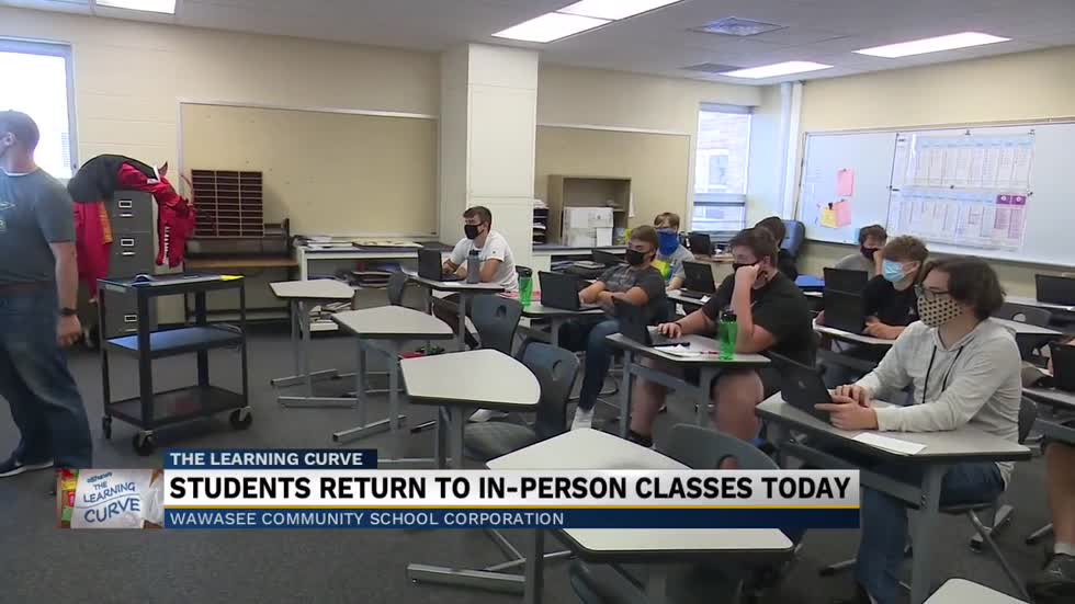 Wawasee Schools open for in person classes