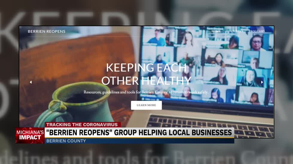 Website offers guidance on reopening for Berrien County business owners