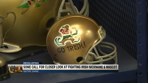 "Website questions if ""Fighting Irish"" nickname is offensive"