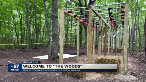 "Welcome to ""The Woods"": New 20-acre fitness park in Benton..."