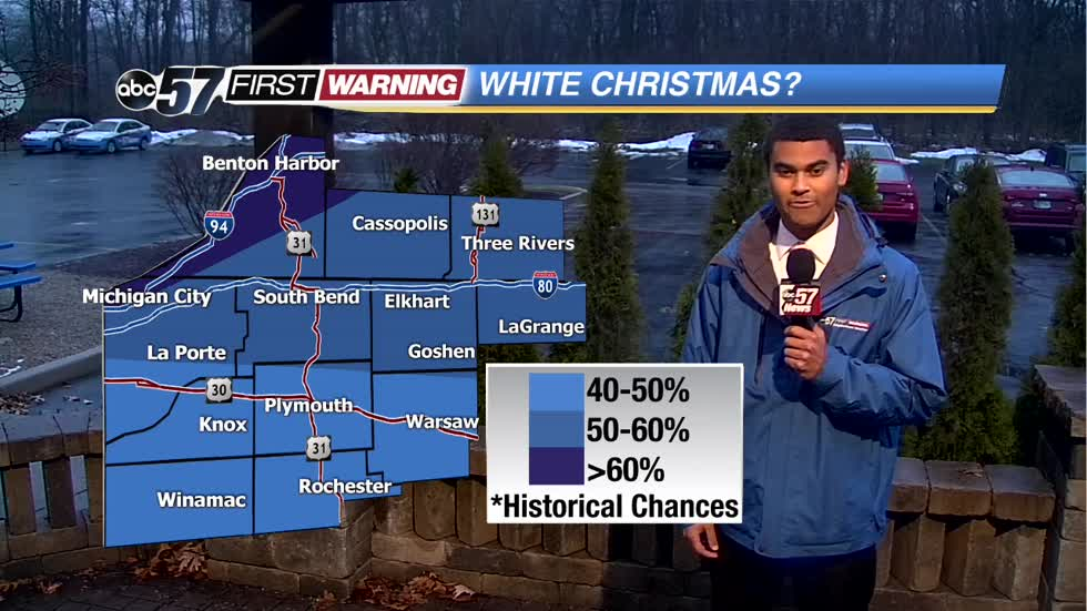 What are our White Christmas chances?