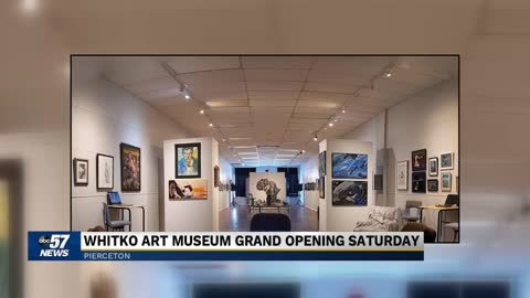 Whitko Art Museum Grand Opening this weekend