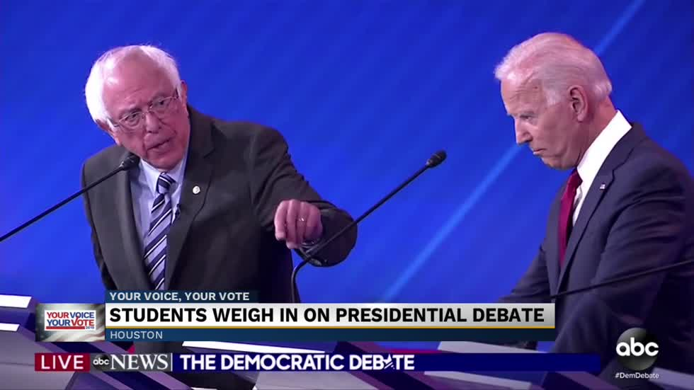 Who 'won' Thursday night's Democratic debate?