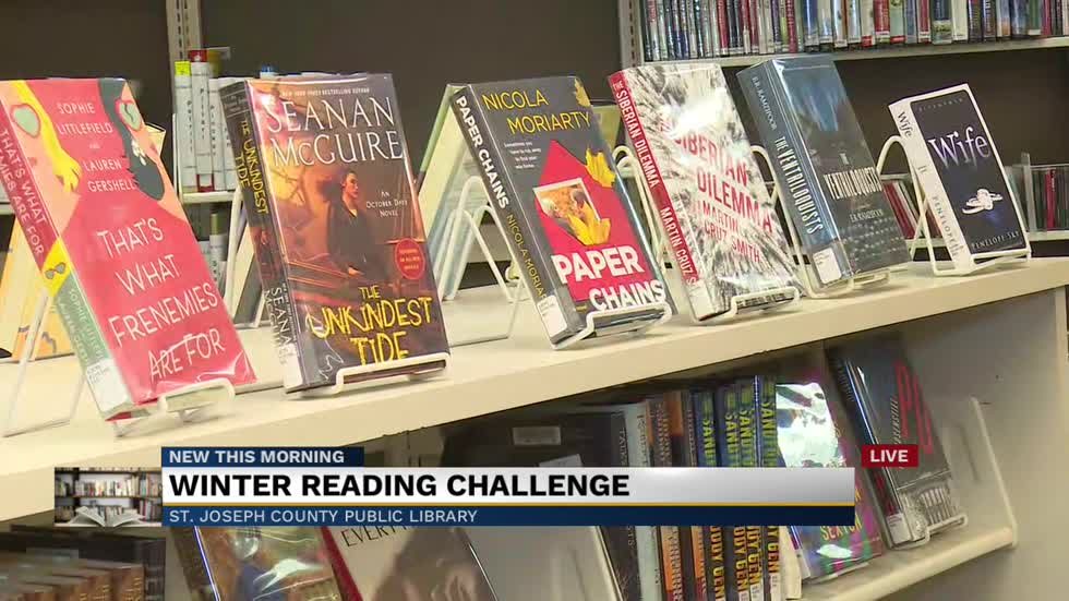 St. Joseph County Public Library kicks off Winter Reading Challenge Monday