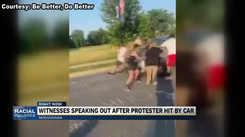 Witnesses speak out after man drove through Mishawaka protest