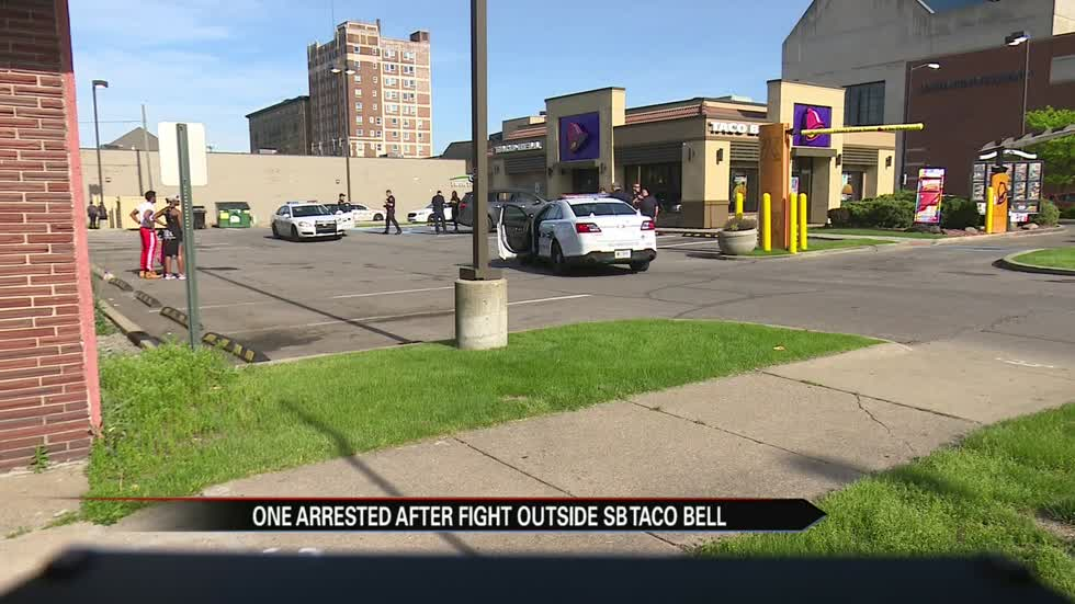 Woman arrested after fight at Taco Bell