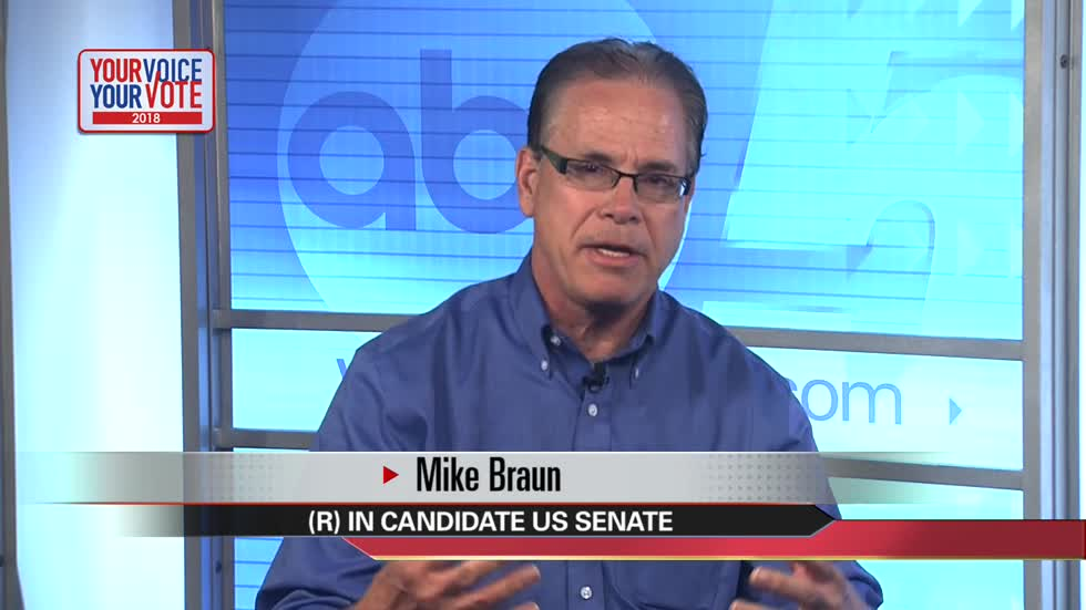 Your Voice, Your Vote: Mike Braun, Senate candidate (1 minute)