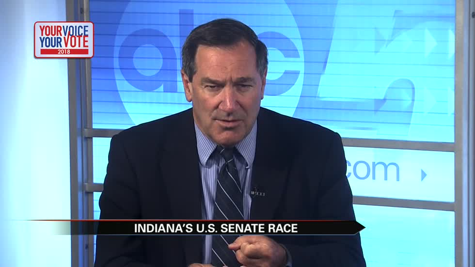 Your Voice, Your Vote: Joe Donnelly, Senate candidate (4 minutes)