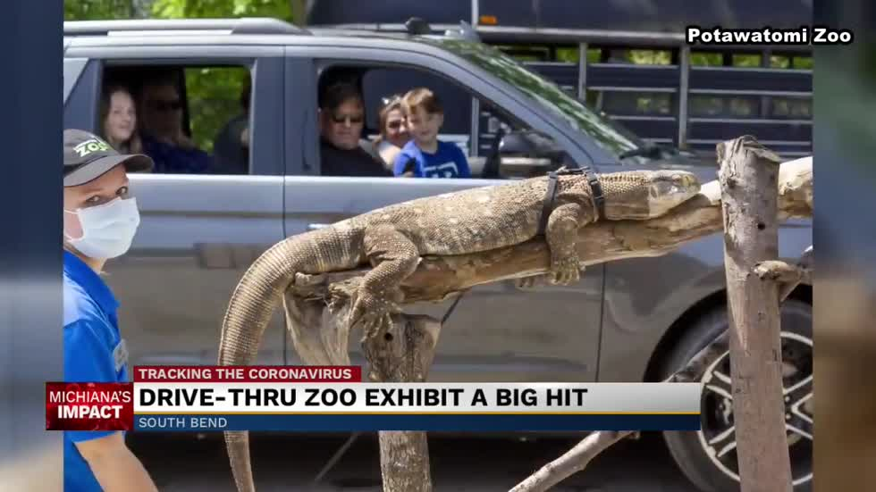Drive-thru fundraisers bring needed revenue for Potawatomi Zoo