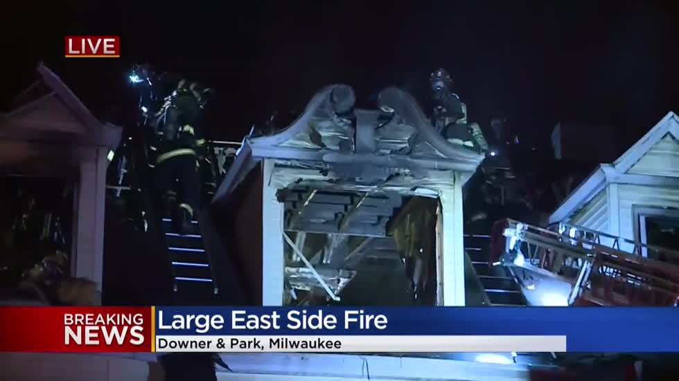 MFD battles east side house fire near Downer Ave. and Park Pl.