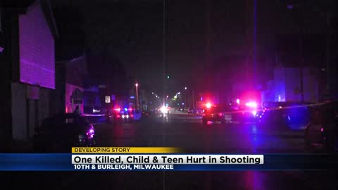 UPDATE: Man killed in triple shooting near 10th and Burleigh, 4-year-old seriously hurt