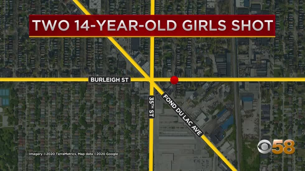 Two 14-year-old girls hurt in shooting near 34th and Burleigh