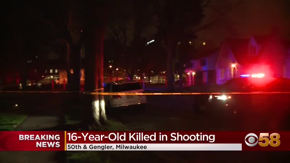 16-year-old shot, killed near 50th and Burleigh
