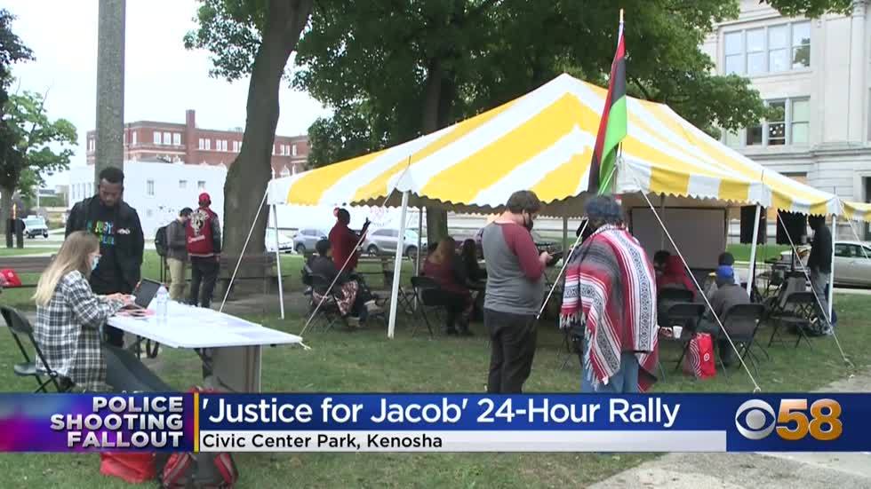 'We can make the change:' Justice for Jacob 24-hour peaceful...